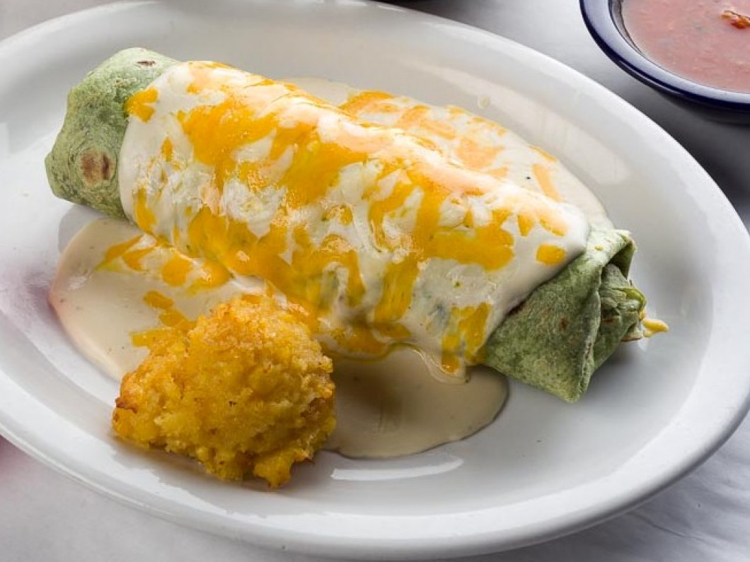 Shrimp Burrito