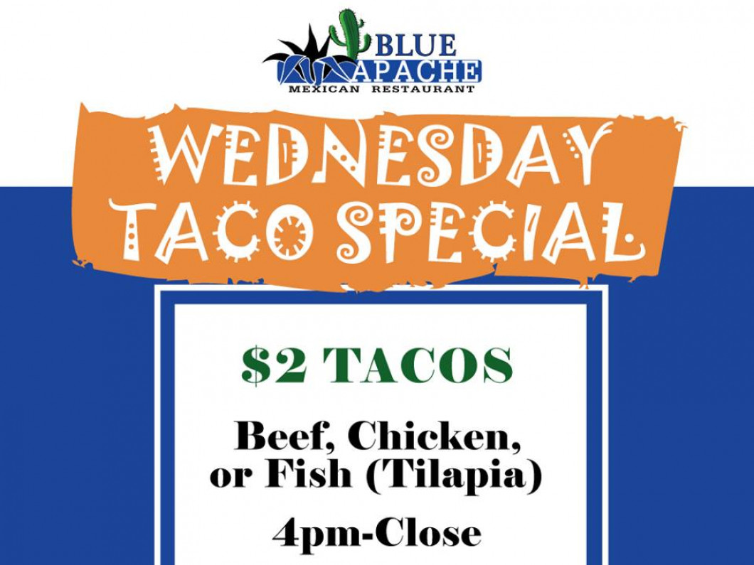 Wednesday Taco Special (Dine In Only)