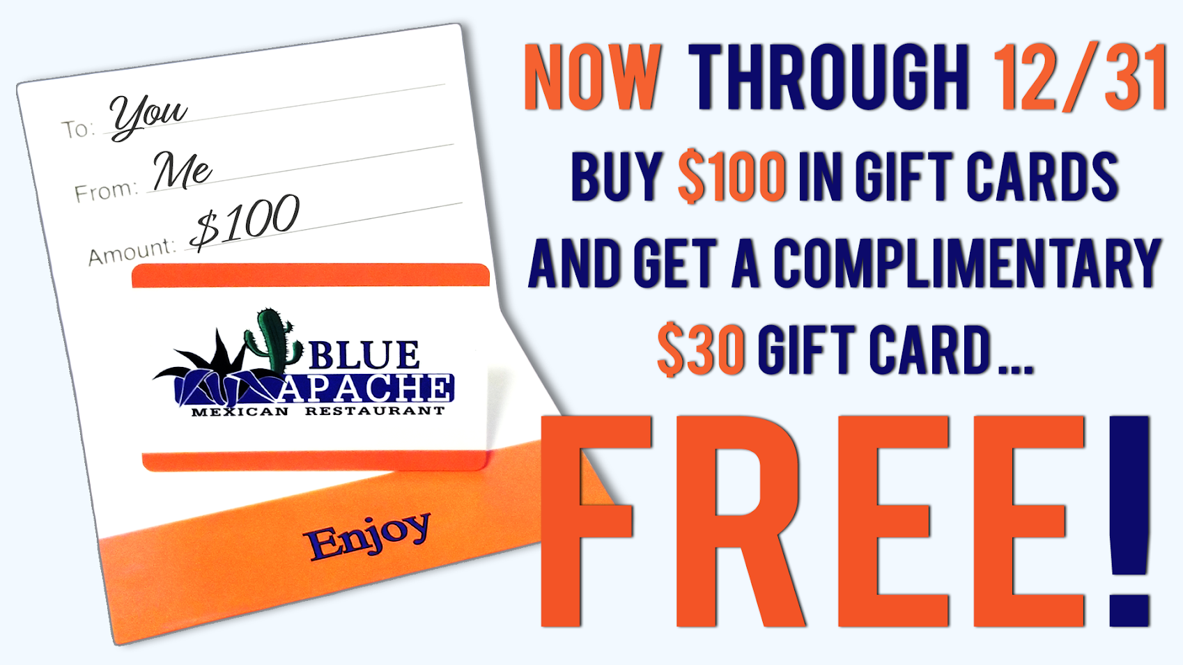 Purchase Gift Cards Today!